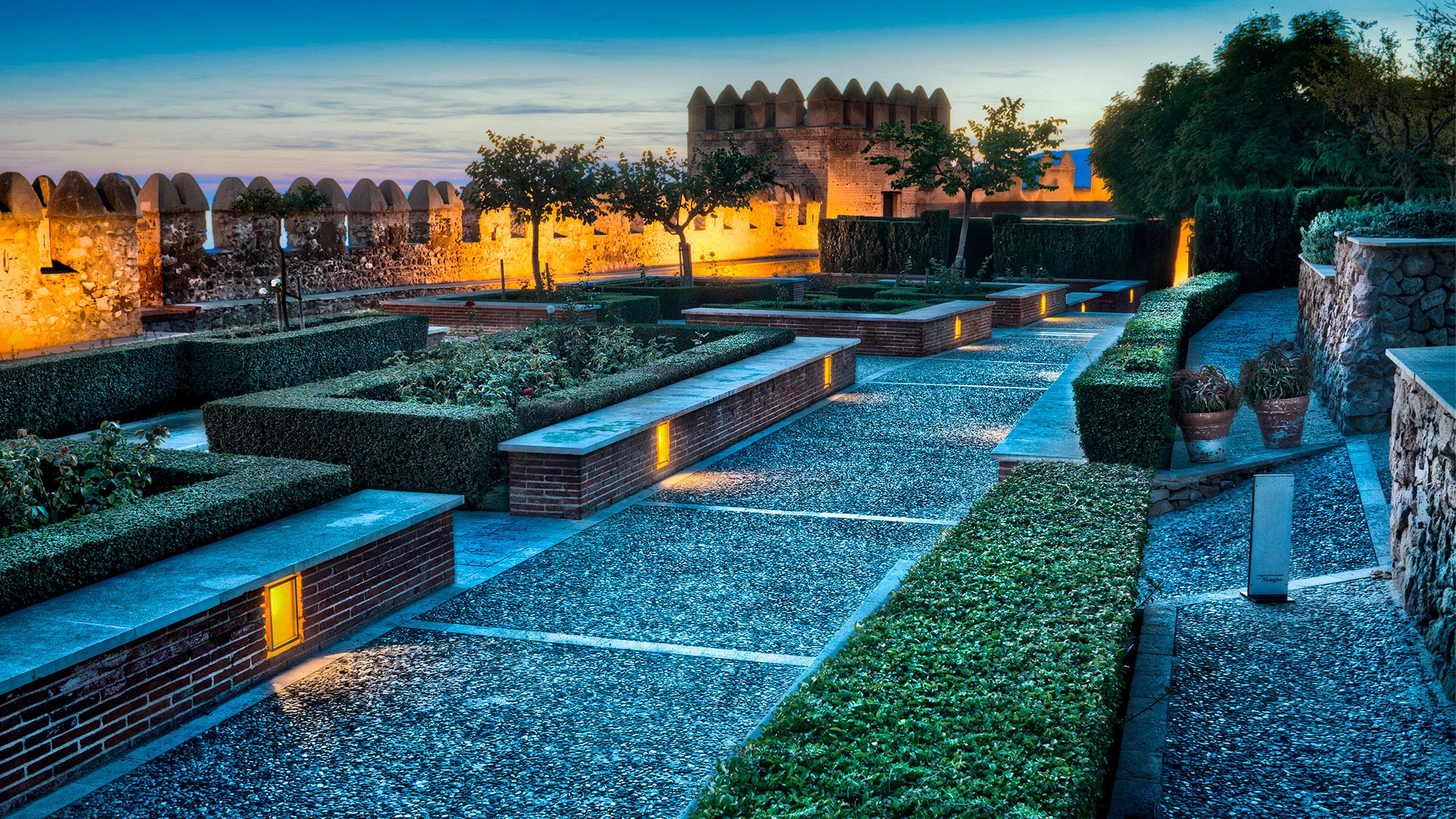 jardines de la alcazaba almeria