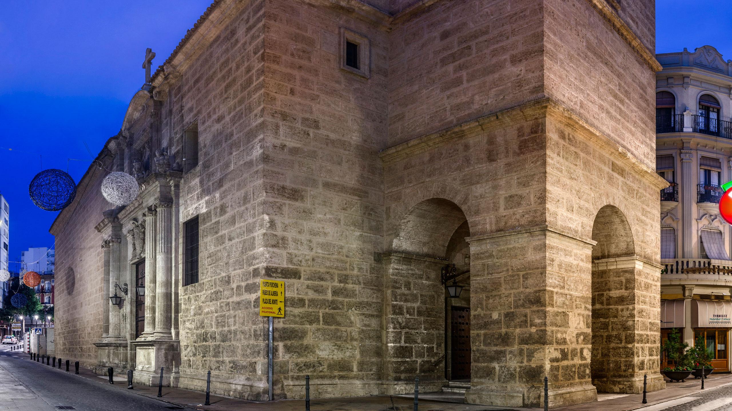 iglesia de santiago almeria