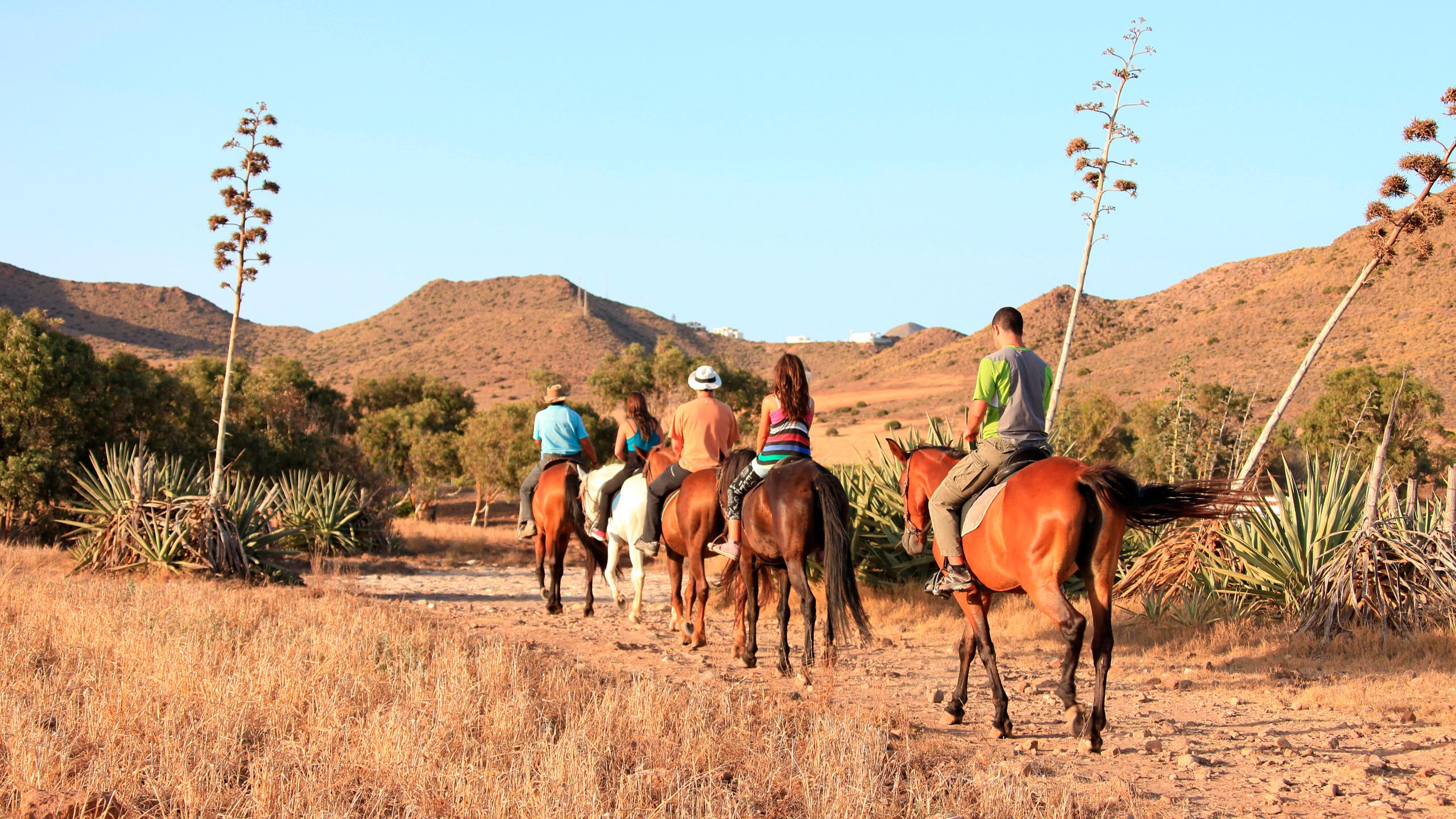 Ruta a caballo, Almería